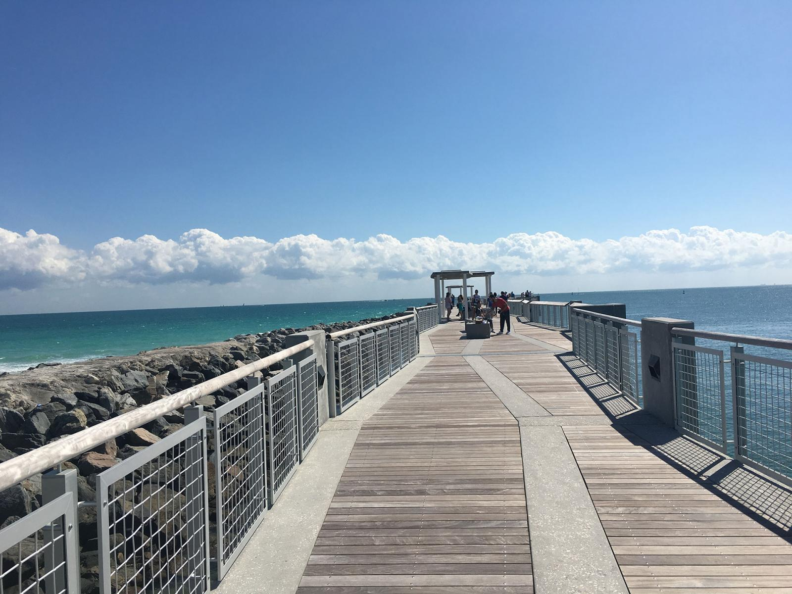 Miami Beach lugares de interes: South Pointe Park