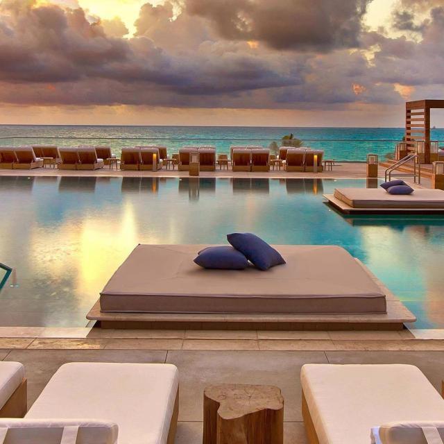 The 1 Rooftop Bar en la South Beach de Miami