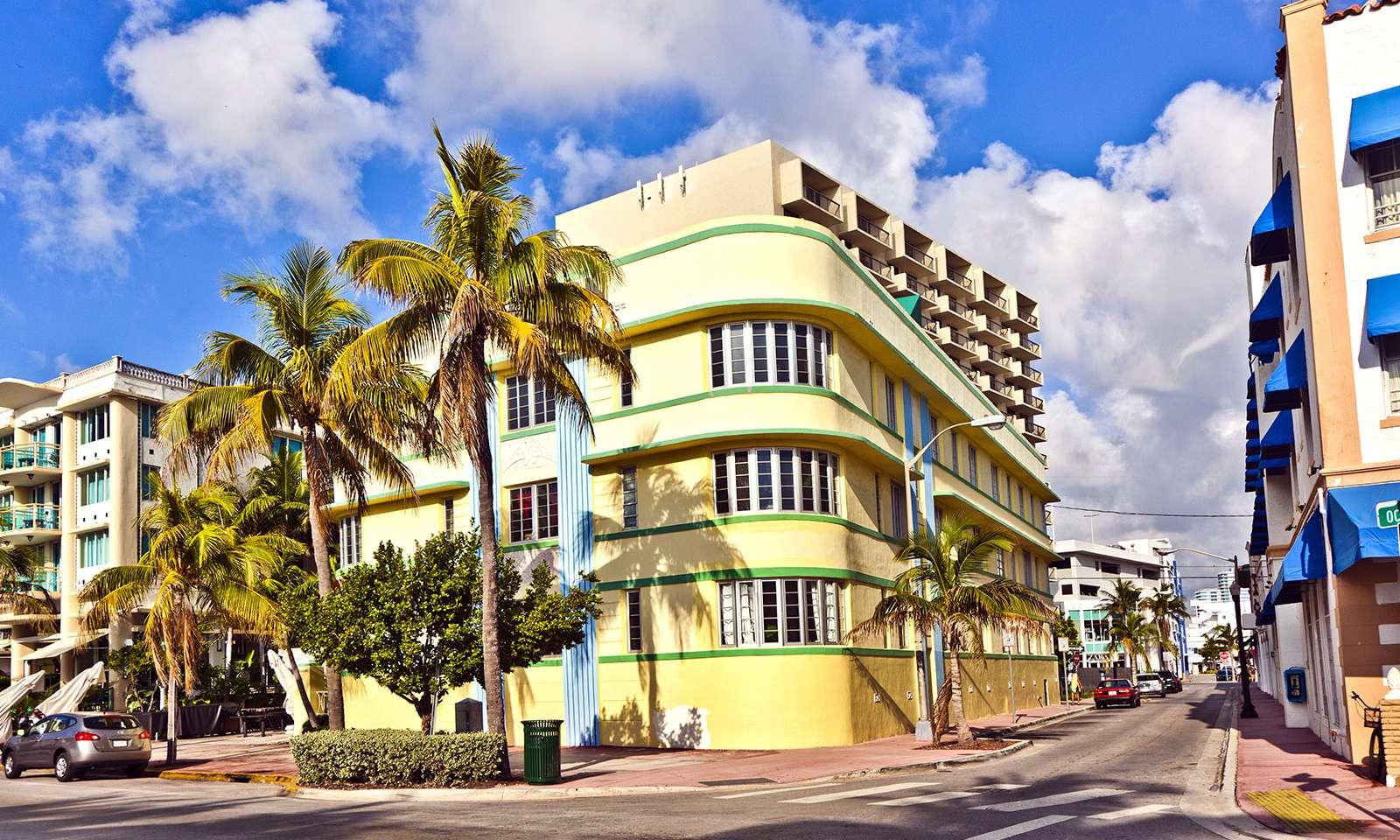 art deco en miami