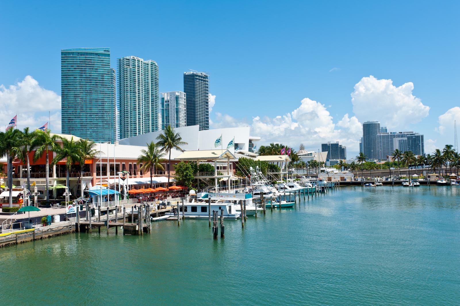 Shopping en Miami Bayside Marketplace