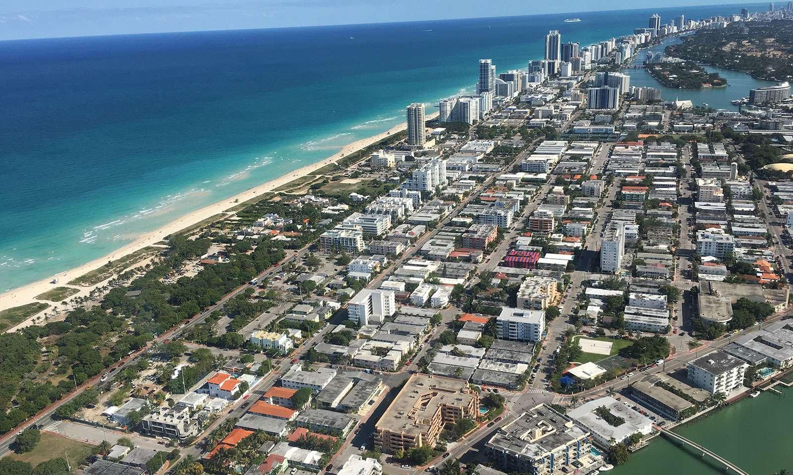 Ver Miami desde el aire