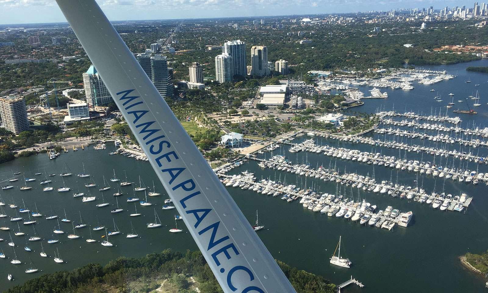 Miami desde el aire: tour en avioneta sobre miami