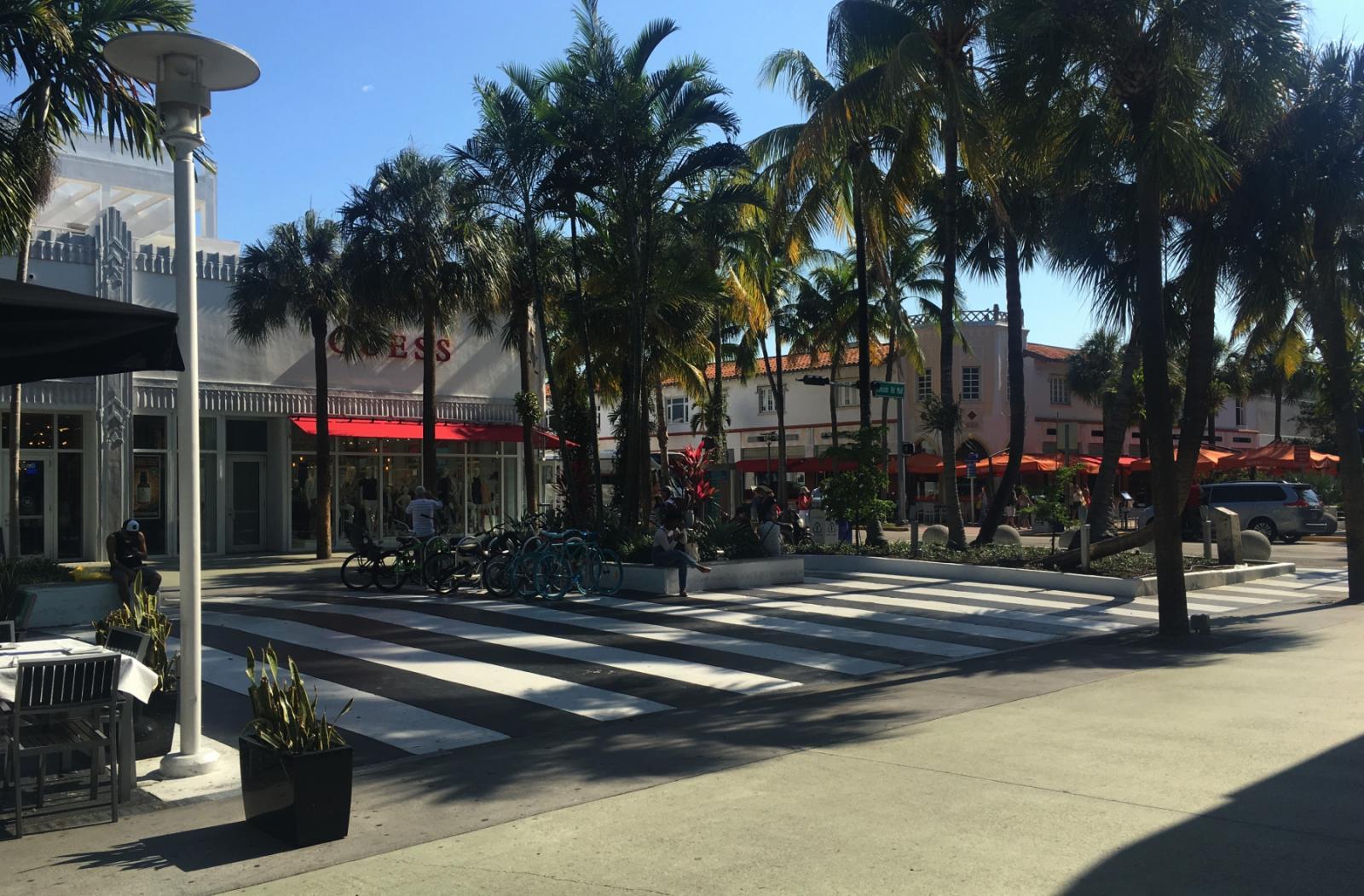Miami Beach lugares de interes: Lincoln Road